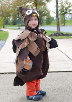 Love this homemade owl costume!