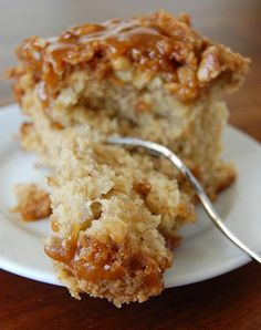Banana Foster Crumb Cake... Kev does love anything Bananas Foster lol