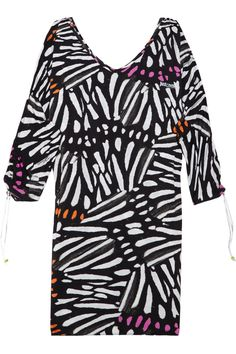 Printed jersey dress by Just Cavalli