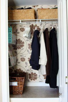 Hall Coat Closet