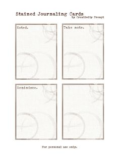 PREVIEW - Journaling Labels