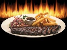 Firebirds Baby Back Ribs with Java BBQ Sauce