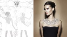 Azza Fahmy Pharaonic Collection Campaign