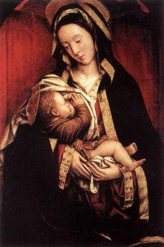 Madonna and Child Defendente Ferrari Oil on Panel
