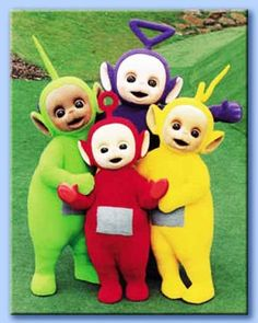 Still holds the record for the amount of time I spent hypnotized while watching my grandson. Time stopped when the Teletubbies were on. Weird.
