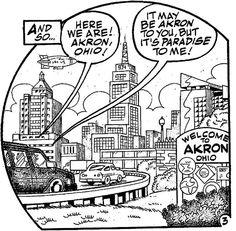 Here we are, Akron Ohio!