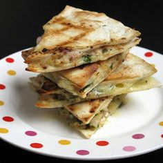 Turn Thanksgiving Leftovers Into Quesadillas