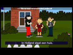 Kinderliedjes van vroeger - In holland staat een huis