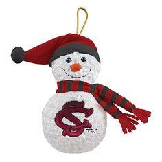 music snowman, carolina gamecock, snowman ornaments, musicals, gamecock music, gamecock mania, awesom ornament, south carolina, carolina gameock