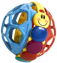 Baby Einstein Bendy Ball helps kids develop important motor skills. Ages 3 months and up.