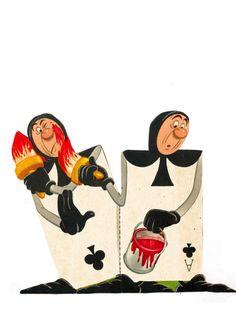 *SOLDIER CARDS ~ Alice in Wonderland