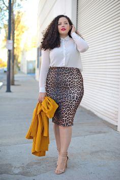 :: Feline :: #girlwithcurves #taneshaawasthi #leopard #leopardprint #curvy #plussizefashion #plussizeclothing #plussizeblog #psblogger #naturalcurls