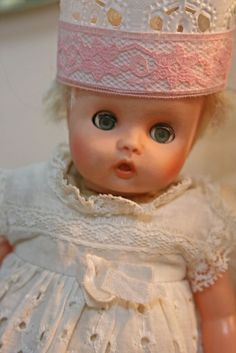 vintage baby doll.
