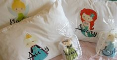 Personalized Princess Pillowcases - 12 designs!
