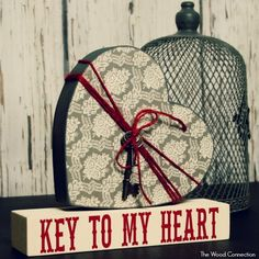 The Wood Connection - Key to my Heart (Heart, Keys, Block