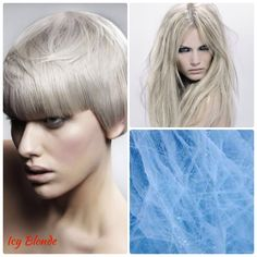 blonde highlighted wavy cute cuts styles nails makeup