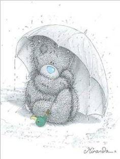 Tatty Bear tatty bear, bear 240x320, teddi bear, bear pic, bears, umbrella, tatti teddi, tatti bearm, rain