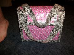 Hello Kitty duck tape bag!