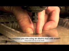 drilling glass