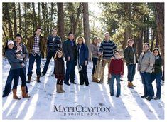 Big family pic...love the placement of everyone!