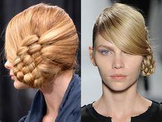 Wedding hair fashion weeks, runway hair, basket, braids, girl hairstyles, new york fashion, natural styles, braid hair styles, braid styles