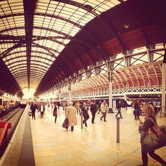 Paddington Station in London