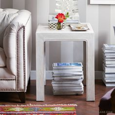 How to Whitewash Furniture via Design*Sponge