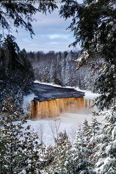 Tahquamenon Falls, Michigan; photo by Joe Braun