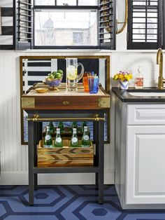 Baker's Table in Crank Up Your Kitchen's Style from HGTV