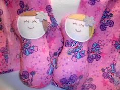 Sewing Miles of Smiles...: HOSPITAL PEANUT DOLL TUTORIAL