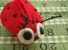 tutorials, hand sewing, sewing projects, bugs, pattern, birds, ladi bug, lucyk craft, crafts