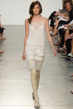Look 2 Thakoon Spring 2014 #NYFW #lace