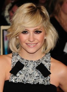 Pixie Lott Layered Bob Hairstyle