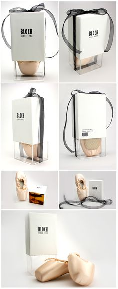 Bloch Pointe Shoe. Beautiful ballet slipper #packaging PD