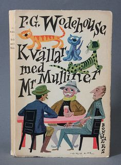 Olle Eksell :: P.G. Wodehouse book cover