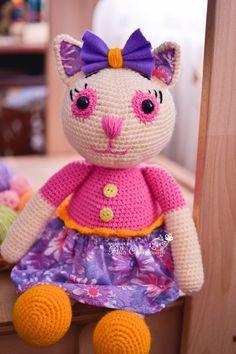 Toys by Alla Chernous: Кошечка