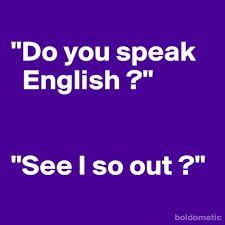 englisch lustig