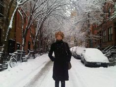 cute and snowy