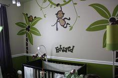 Monkey Nursery for Eddie