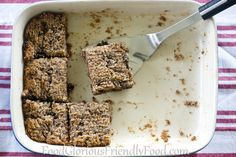Almond Chia Breakfast Slice   #FoodGloriousFriendlyFood