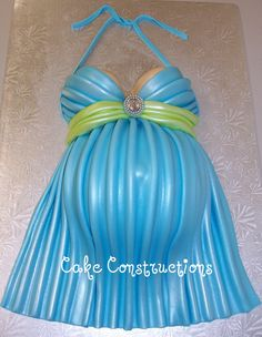 Baby bump cake. Cute for baby shower.