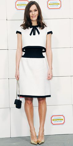 Look of the Day - March 4, 2014 - Keira Knightley in Chanel Couture #InStyle