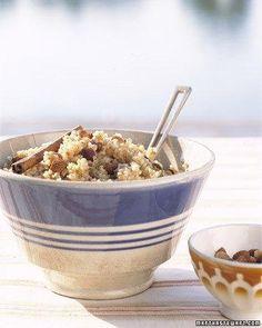 Toasted-Bulgur Pilaf Recipe