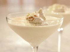 White Chocolate Eggnog recipe from Sandra Lee