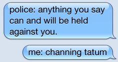 hahaha yes please.