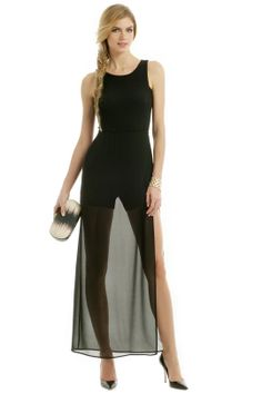 BCBGMAXAZRIA Nothing To Hide Gown