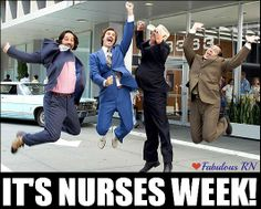 It's Nurses Week! Nurse humor. Nursing funny. Registered Nurses. RN. Nursing student. Student RN. Anchorman meme. Fabulous RN.