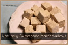 Naturally Sweetened Homemade Marshmallows