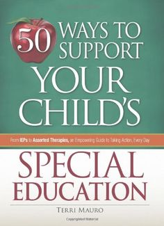 50 ways to support your special education-Pinned by SOS Inc. Resources @sostherapy http://pinterest.com/sostherapy.
