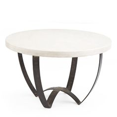 Wisteria - Furniture - Coffee Tables - Sleek Marble-Top Coffee Table